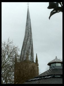 Crooked Spire Church, Chesterfield, Derbyshire